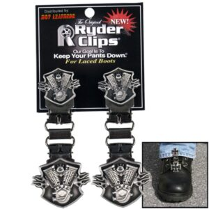 Engine and Flame Boot Clips