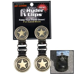 Military Star Boot Clips