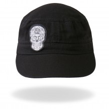 Black Sugar Skull Hat