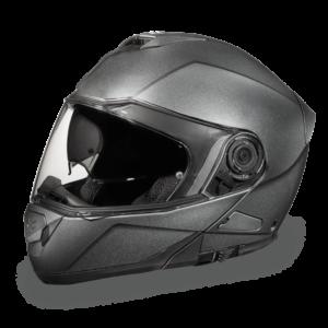 Daytona D.O.T. Glide Gun Metal Gray Metallic Helmet