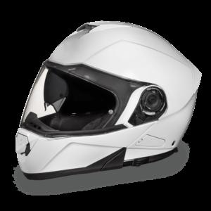 Daytona D.O.T. Glide Hi-Gloss White Helmet