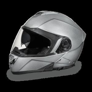 Daytona D.O.T. Glide Silver Metallic Helmet