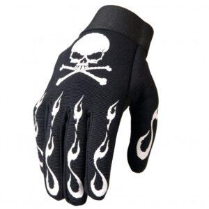 Mechanics Gloves Skull and Crossbones